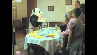 nunca le digas no a un panda en un cumpleaños y en un dia de campo