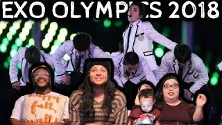 Download Video REACTION TO EXO at the Winter Olympics 2018 Closing Ceremony with THE HENSONS! MP3 3GP MP4