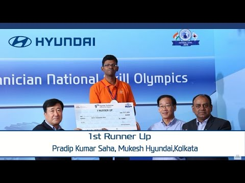 Hyundai | 9th National Skill Olympics | for Dealer Technicians