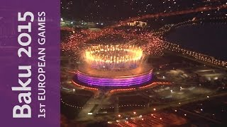 Closing Ceremony Fireworks | Baku 2015 European Games