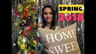 Spring 2018 Decor Bed Bath & Beyond, Hobby Lobby, 99 Cent Store, Dollar Tree