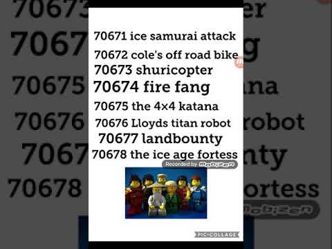 Lego Ninjago Season 11 Set Names Revealed Youtube