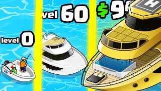 IS THIS THE MOST EXPENSIVE YACHT BOAT EVOLUTION? (9999+ MONEY LEVEL) l Nautical Life