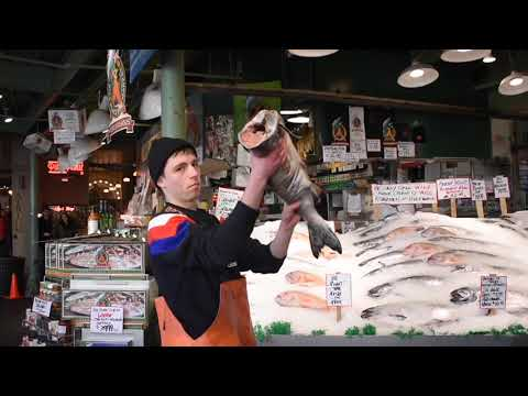 Flying Fish At Pike Place Fish Company Seattle