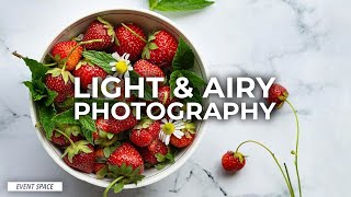 How to Create a Light & Airy Still-Life Images with Simi Jois   B&H Event Space