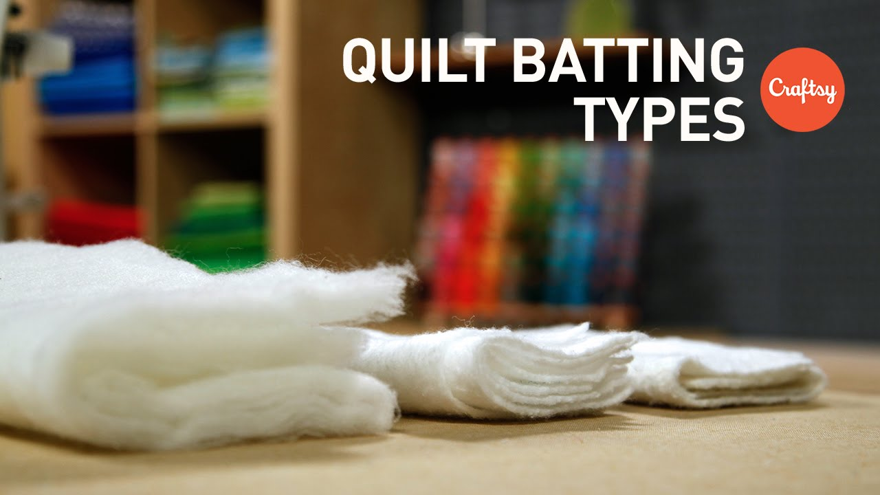 Quilt Batting Types | Quilting FAQs with Amy Gibson - YouTube : quilt batting types - Adamdwight.com