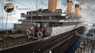 Titanic animator 3D CGI
