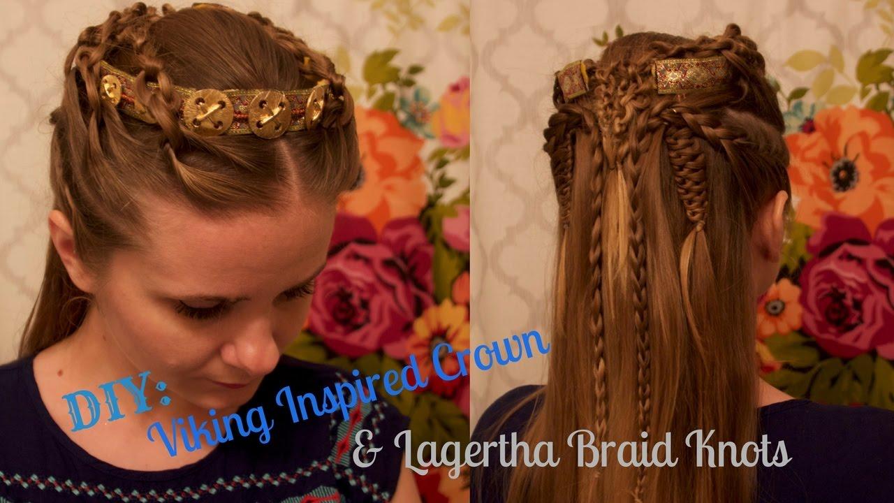 Diy Vikings Crown Amp Lagertha Braids Youtube