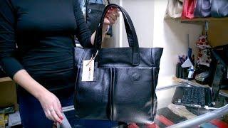 Обзор сумки Royal 06, флотар, черная - Мир Сумок