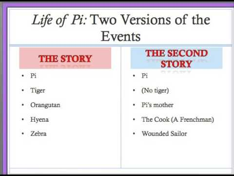 Life of Pi: The Second Story