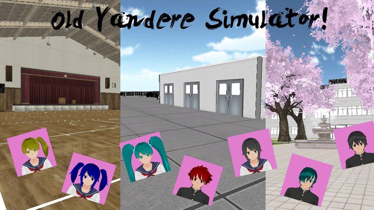 Old Yandere Simulator   Students,Easter Eggs, Old School etc.   Yandere Simulator
