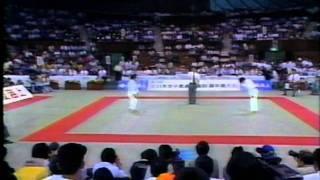 全日本女子体重別 48kg以下級の歴史 ハイライト 1,1986年体重別 決勝 江...