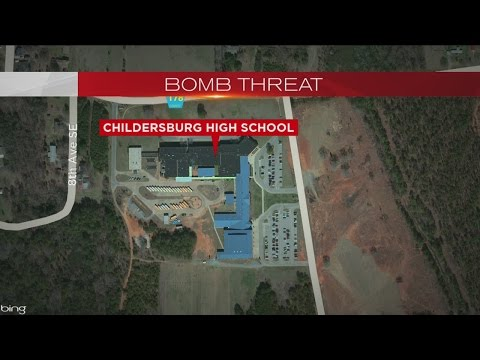 Childersburg High School bomb threat