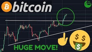 BITCOIN BREAKING OUT FINALLY FROM THE TRIANGLE!! I'll Show You The NEXT BIG MOVE!