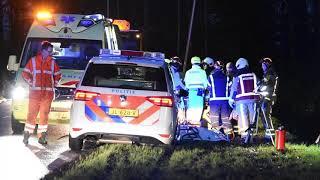 Gewonde bij eenzijdig ongeval aan de Antares in Klazienaveen