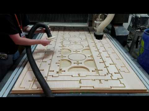 CNC Router Timelapse - 3/4