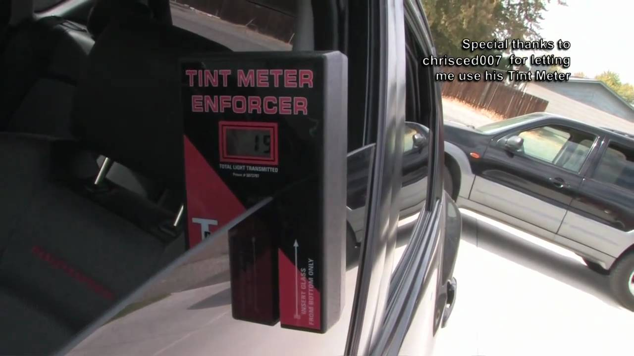 Tint meter on 70 35 20 window tint youtube for 5 percent window tint