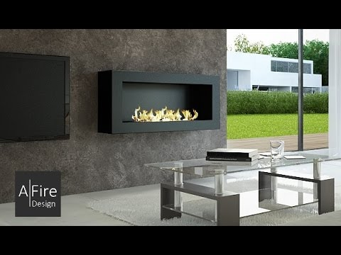 chemin e bio ethanol t l command e moderne design. Black Bedroom Furniture Sets. Home Design Ideas