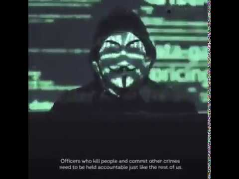 Anonymous is on our side - Justice for George Floyd✊🏾