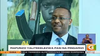 Yafichuka kuwa vijana walipewa kisiri walifunzwa kupambana na ugaidi