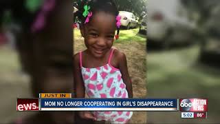 FL Amber Alert: Mom no longer helping deputies with search for 5-year-old Taylor Williams, JSO says