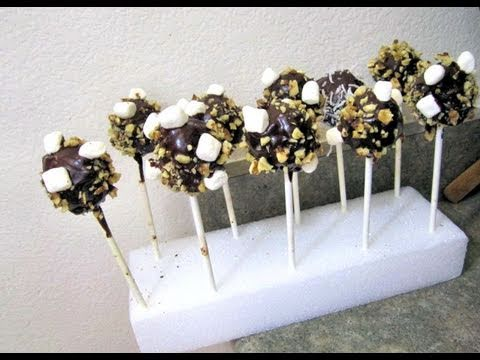 How to Make Rocky Road Cake Pops like Starbucks How to Make Cake