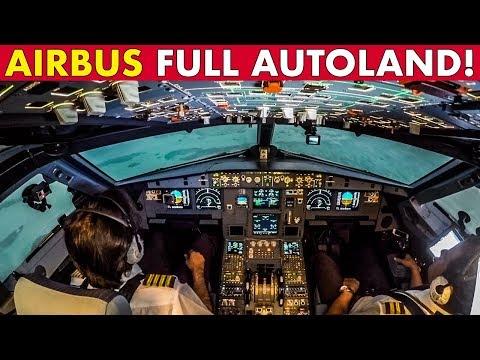 Watch AIRBUS LANDS ITSELF  - Full CAT III Autoland