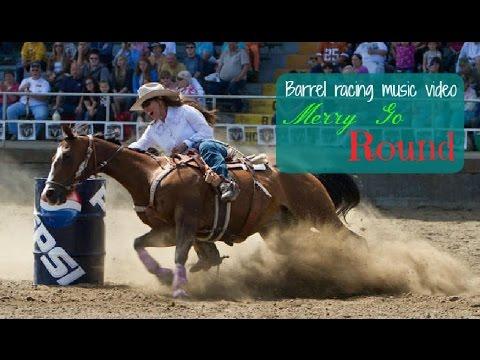 Barrel racing music video ~ Merry go round