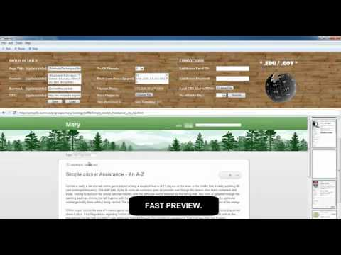 Wiki Blaster - build edu and gov backlinks