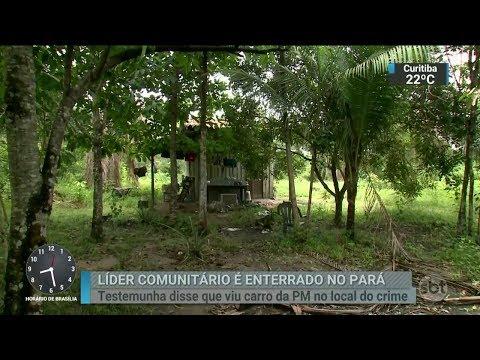Corpo de líder comunitário morto em Barcarena é enterrado | SBT Brasil (13/03/18)
