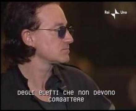 Pavarotti - U2 - Ave Maria LIVE