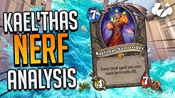 WHY THE KAEL'THAS NERF WAS NOT ENOUGH | Tempo Storm Hearthstone [Ashes of Outland]