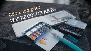 Ultra Compact Watercolor Sets