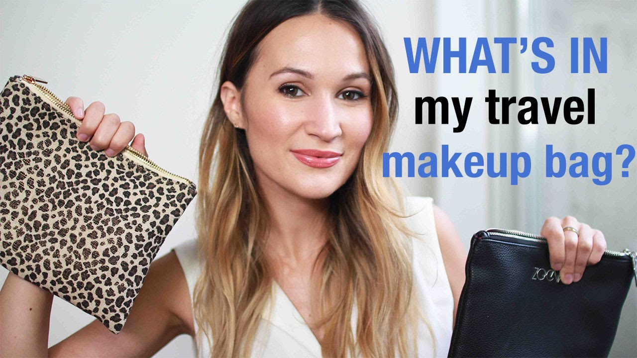29e9501bc98d What's in my travel makeup bag? + some packing tips | ttsandra - YouTube