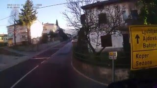 Slovenia. Road 611, 0-5 km. 2015-12, 1x