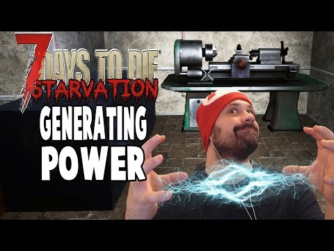 Power, Mill and Lathe | 7 Days To Die Starvation | E29