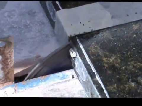 Cutting Granite Worktop With Tile Cutter