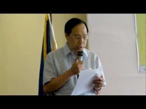 Mabini Handog Titulo - FEF President