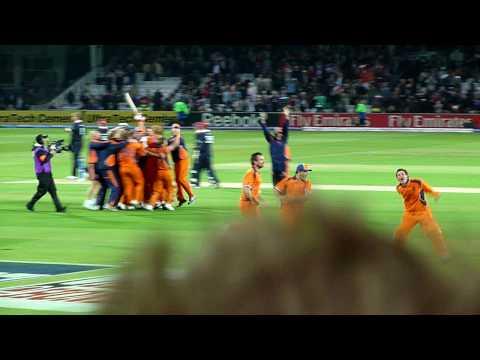 England V Netherlands 20/20 Cricket World Cup - Final Ball