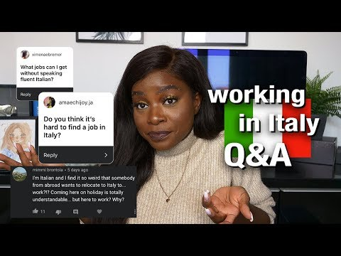 ANSWERING ALL YOUR QUESTIONS | WORKING IN ITALY Q&A