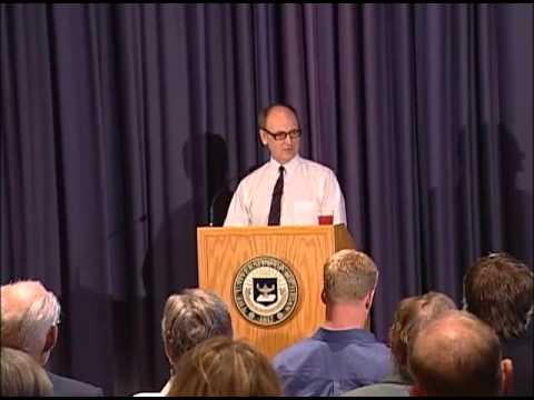 "2007 Marsh Lecture: Mark McDonald on ""The Media at War - Covering Iraq and Afghanistan"""
