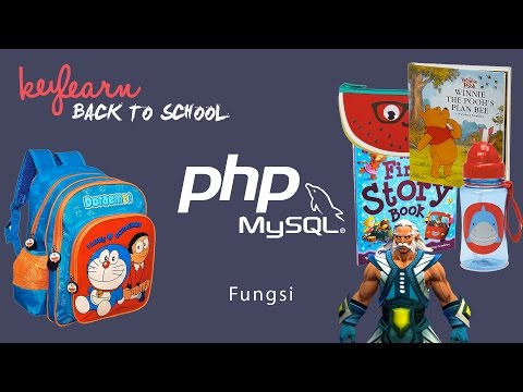 Belajar Pemrograman PHP Yuk! | #6. Fungsi Pada PHP (OMG) | Bahasa Indonesia