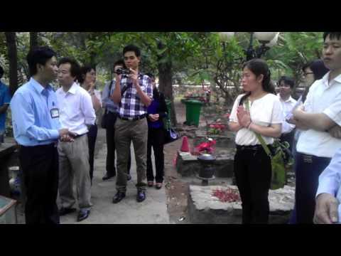 Thăm viếng mộ Võ Thị Sáu - Nghĩa trang Hàng Dương - Côn Đảo