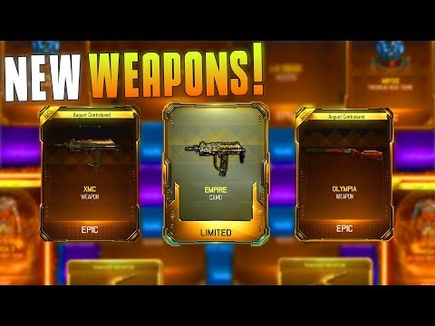 I GOT THE MSMC, OLYMPIA, AND THE NEW CAMO! (BO3 Supply Drop Opening) Crazy New Gear! - MatMicMar