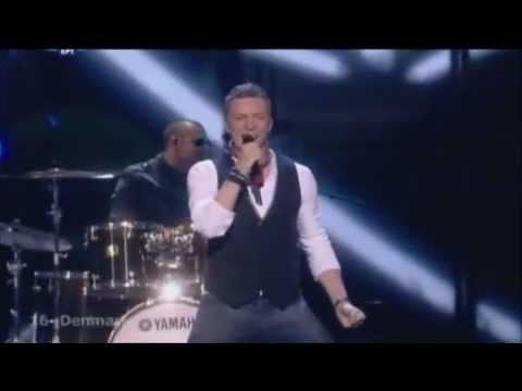 Niels Brinck - Believe Again (Eurovision 2009 - Denmark) Broadcasting By ERT
