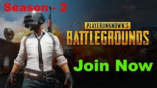PUBG Mobile Game Live Season 2 - Mezzo Buzz First Time Live