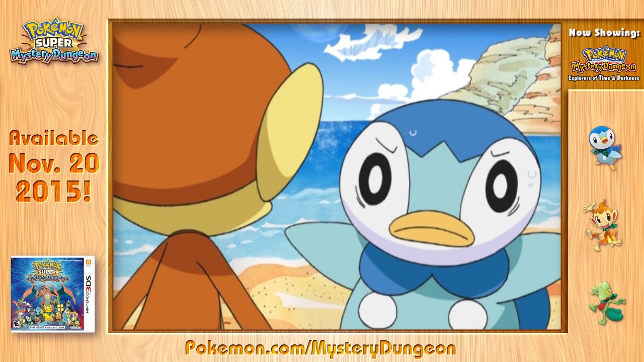Pokemon Mystery Dungeon Explorers of Sky and Darkness