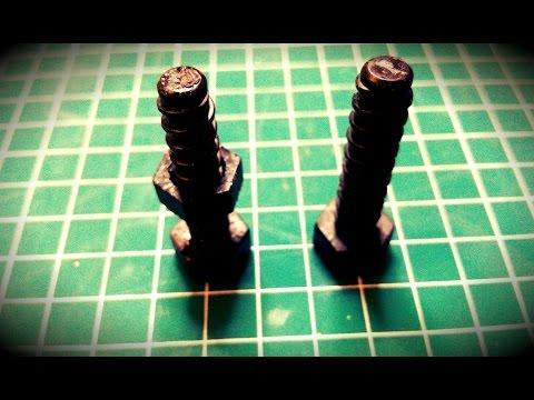 Replicating Plastic Screws with Resin Casting
