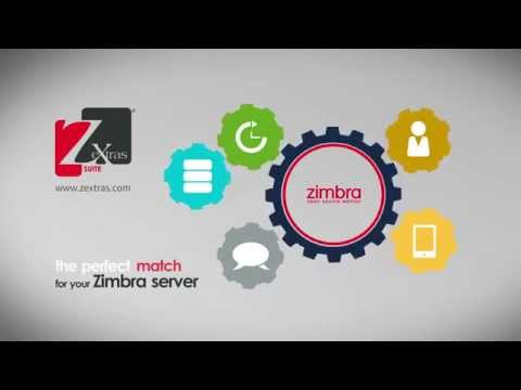 ZeXtras Suite - The perfect match for your Zimbra server