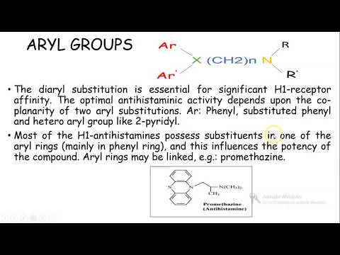 SAR OF H1 RECEPTOR ANTAGONISTS/Anti Allergic/ANTI HISTAMINE/H1 Blokers